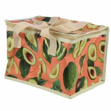 Koeltas avocado goedkope roze liter