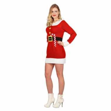 Rode kerst jurk goedkope dames