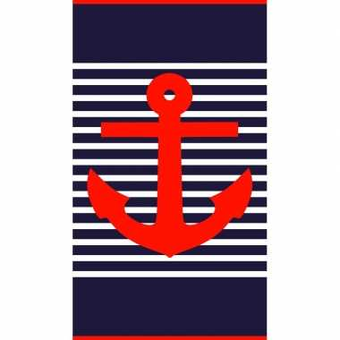 Strandlaken/badlaken maritiem goedkope douglas /
