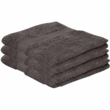 X goedkope handdoeken grijs grams