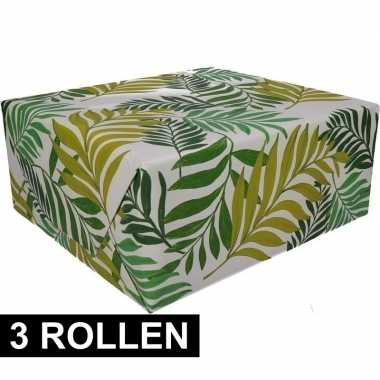 X inpakpapier urban jungle goedkope rol