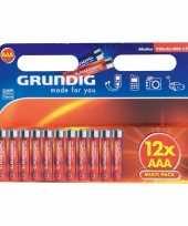 Goedkope alkaline batterijen aaa grundig stuks