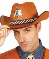 Goedkope amerikaanse sheriff hoed