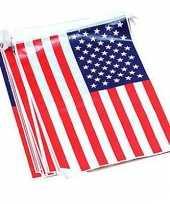 Goedkope amerikaanse vlaggenlijn meter