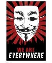 Goedkope anonymous poster