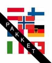 Goedkope apres ski landen stickers