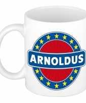 Goedkope arnoldus naam koffie mok beker