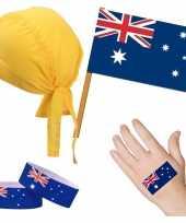 Goedkope australie australisch thema verkleed set volwassenen