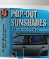Goedkope autoraam zonneschermen stuks