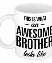 Goedkope awesome brother cadeau mok beker broer