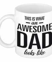 Goedkope awesome dad cadeau mok beker vaderdag