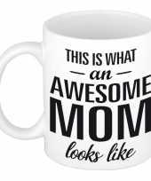 Goedkope awesome mom cadeau mok beker moederdag