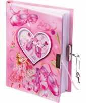 Goedkope ballerina dagboek slot