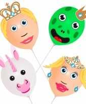 Goedkope ballonset prins prinses stuks
