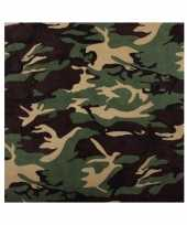 Goedkope bandana camouflage volwassenen