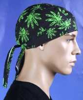 Goedkope bandana cap wietblad marihuana