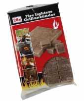 Goedkope barbecue aanmaakblokjes stuks 10057719