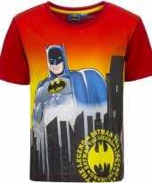 Goedkope batman t shirt rode mouw