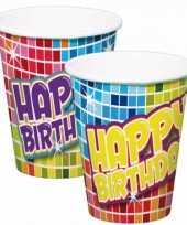 Goedkope bekertjes happy birthday stuks