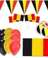 Goedkope belgie supporter versiering pakket