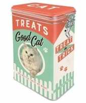 Goedkope bewaarblik voorraadblik kattensnoepjes