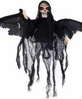 Goedkope bewegende skelet pop zwart licht geluid