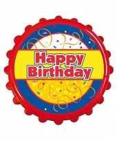 Goedkope bierdop flesopener birthday