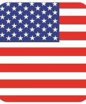 Goedkope bierviltjes verenigde staten vlag vierkant st