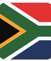 Goedkope bierviltjes zuid afrikaanse vlag vierkant st