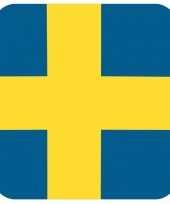Goedkope bierviltjes zweedse vlag vierkant st