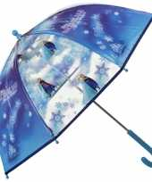 Goedkope blauwe disney frozen paraplu