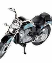 Goedkope blauwe honda shadow speelgoed motor