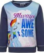 Goedkope blauwe my little pony sweater meisjes