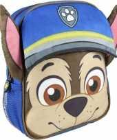 Goedkope blauwe paw patrol rugtas rugzak chase jongens
