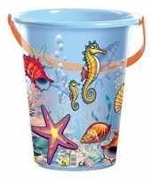 Goedkope blauwe speelgoed strandemmer schelpen zeedieren