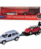 Goedkope bmw auto aanhanger speelgoed modelauto
