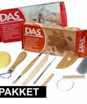 Goedkope boetseer basis pakket klei gereedschap