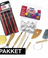 Goedkope boetseer klei gereedschap vormpjes pakket