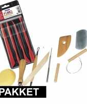 Goedkope boetseerklei gereedschap pakket