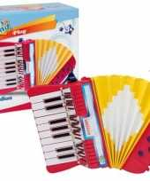 Goedkope bontempi kinder accordeon