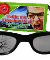 Goedkope bril barst glas