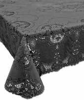 Goedkope buiten tafelkleed tafellaken antraciet grijs 10149841