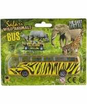 Goedkope bus safari speelgoedauto giraf goedkope
