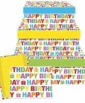 Goedkope cadeaudoosje happy birthday 10115504