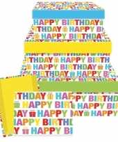 Goedkope cadeaudoosje happy birthday