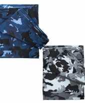 Goedkope camouflage afdekzeil meter