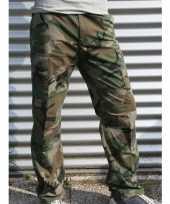 Goedkope camouflage broek katoen