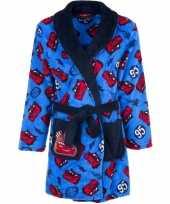 Goedkope cars fleece badjas blauw jongens