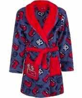 Goedkope cars fleece badjas rood blauw jongens