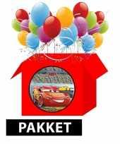 Goedkope cars kinderfeestje pakket